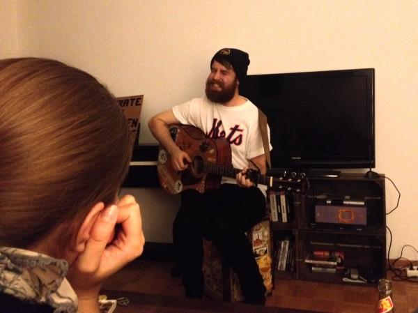 Adam Barnes live
